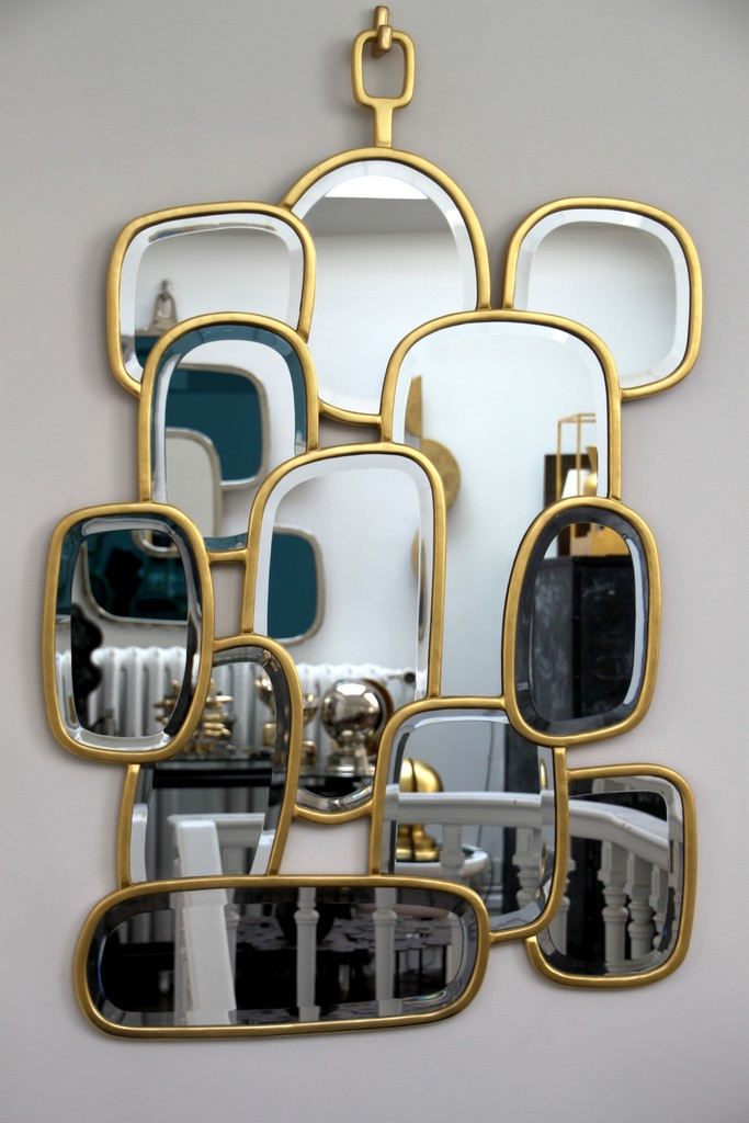 Miroirs hubert le gall for Miroir facette