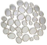 Miroir romulus or blanc